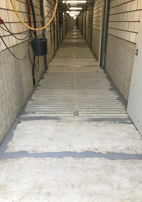 Centrale gangen