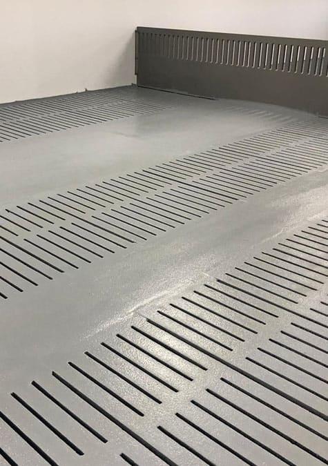 coatingvloer varkenshouderij