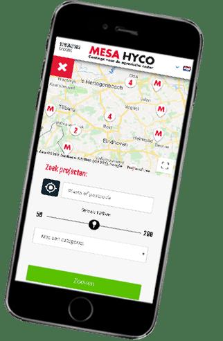 Mesa coatings app