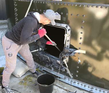 silo coating